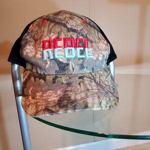 Rebel Camo Velco Ajustable Hat